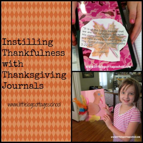 instilling thankfulness